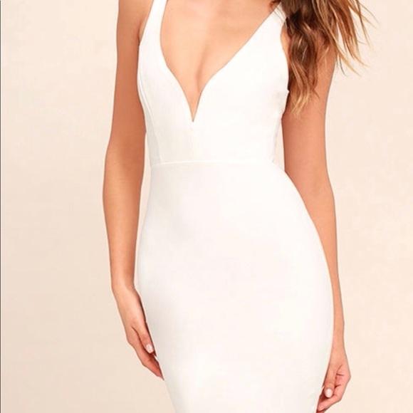 Lulus Midi Bodycon Dress